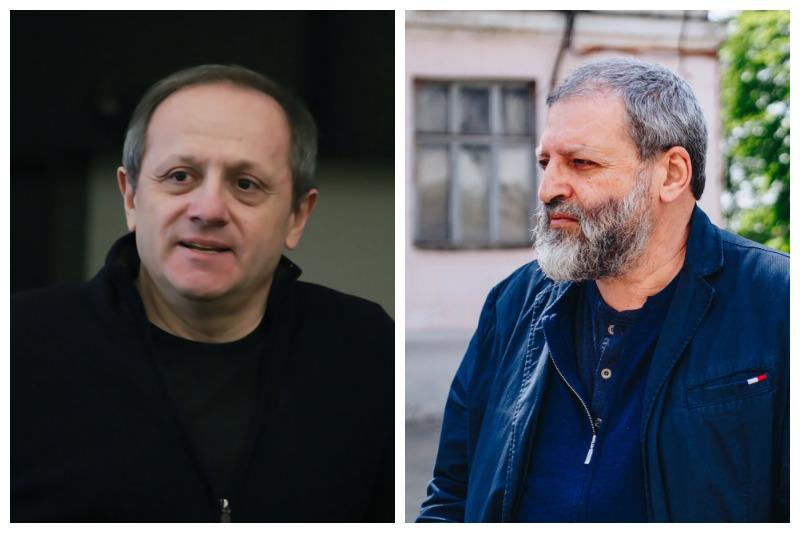 Григорий Дитятковский и Эмиль Капелюш