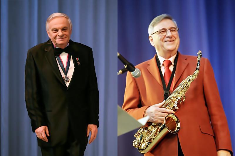 Леонард Гатов и Георгий Гаранян