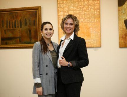 Мадина Павлюк (слева) и Юлия Кудина