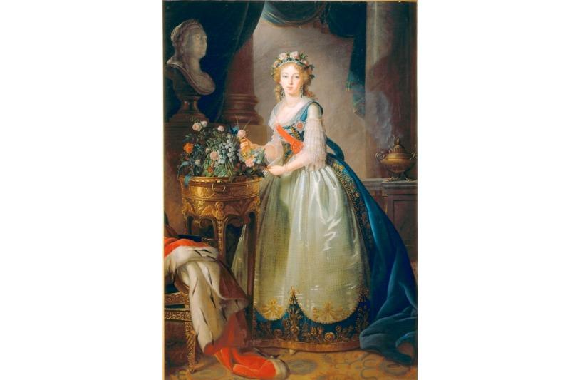 М.-Э.-Л.-Виже-Лебрен.«Портрет Великой княгини Елизаветы Алексеевны»
