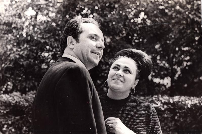 Владимир Бониславович и Тамара Марковна Генины