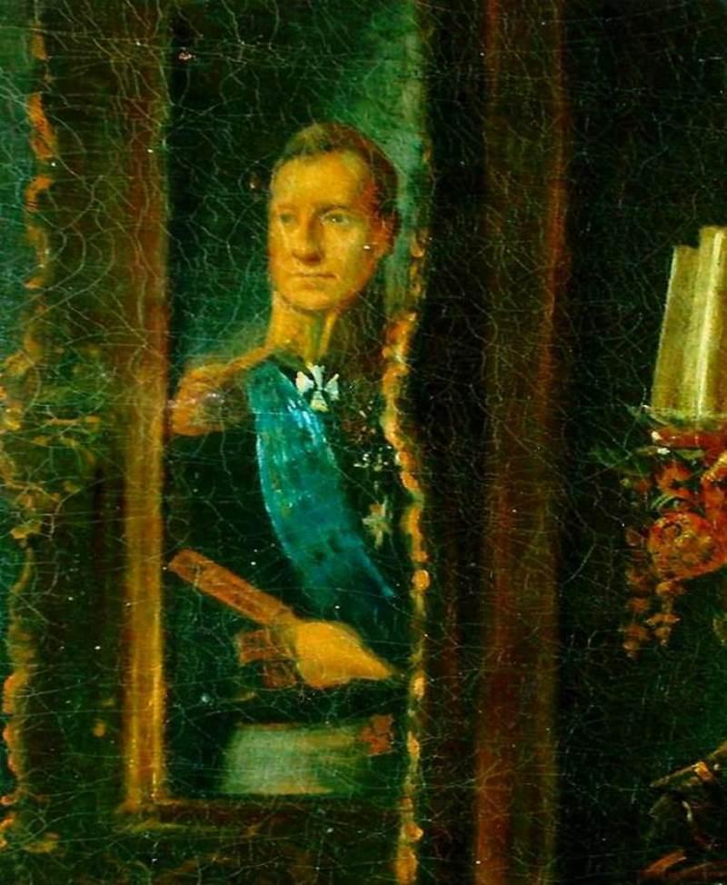 «Портрет адмирала флота А. С. Грейга» неизвестного художника с картины Т. А. Неффа