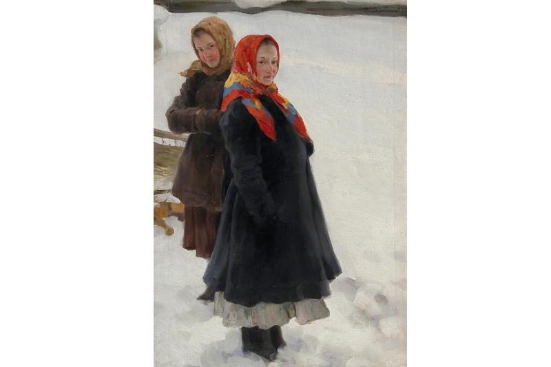 Н. В. Харитонов. «Девочки». 1907 г.
