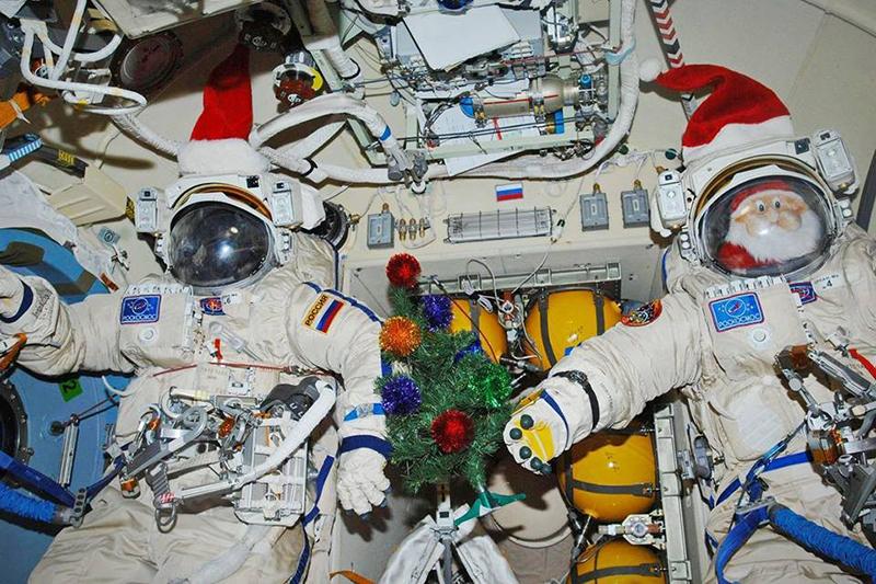 Новый год на МКС