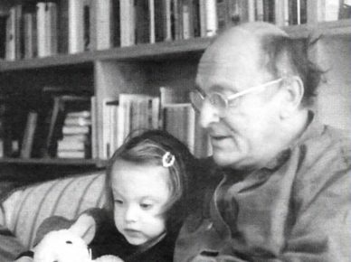 Иосиф Бродский с дочерью Анной