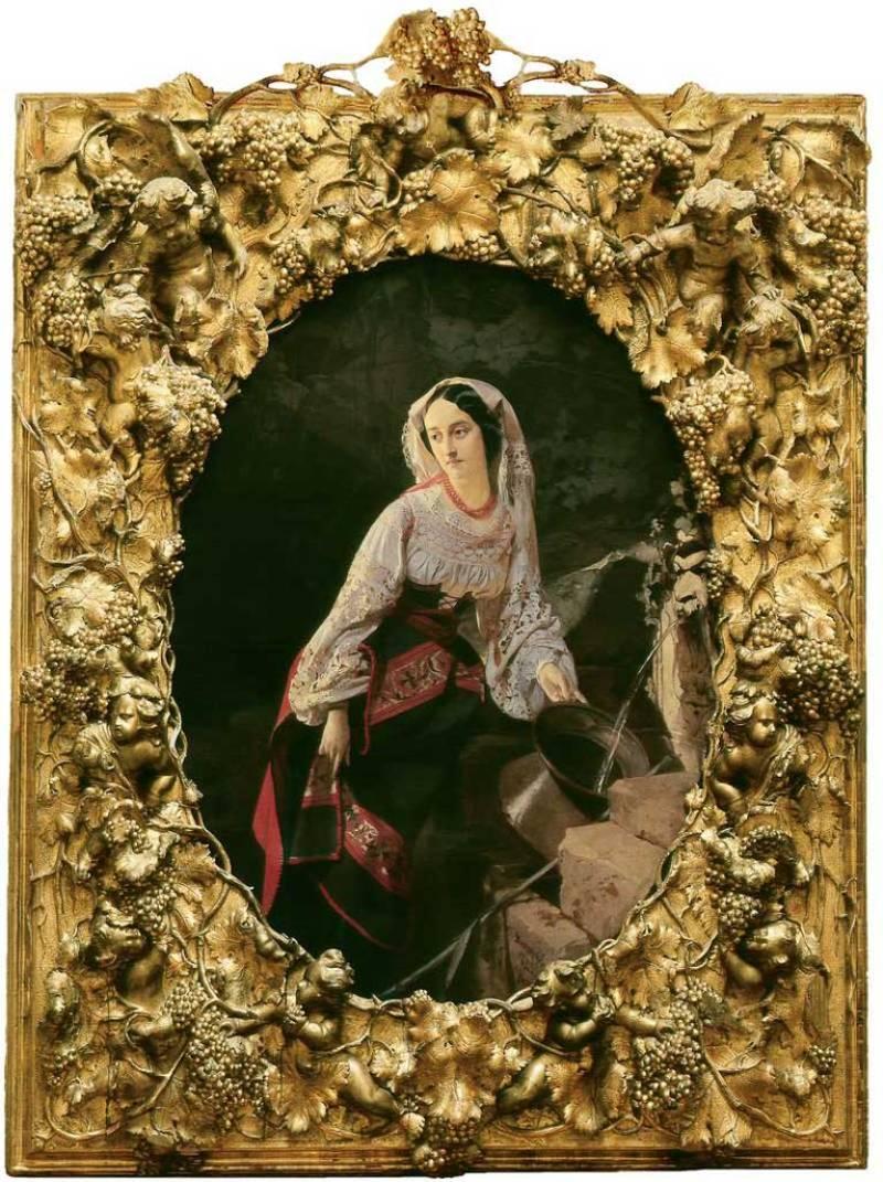 И. К. Макаров. «Итальянка у источника». 1855 г.