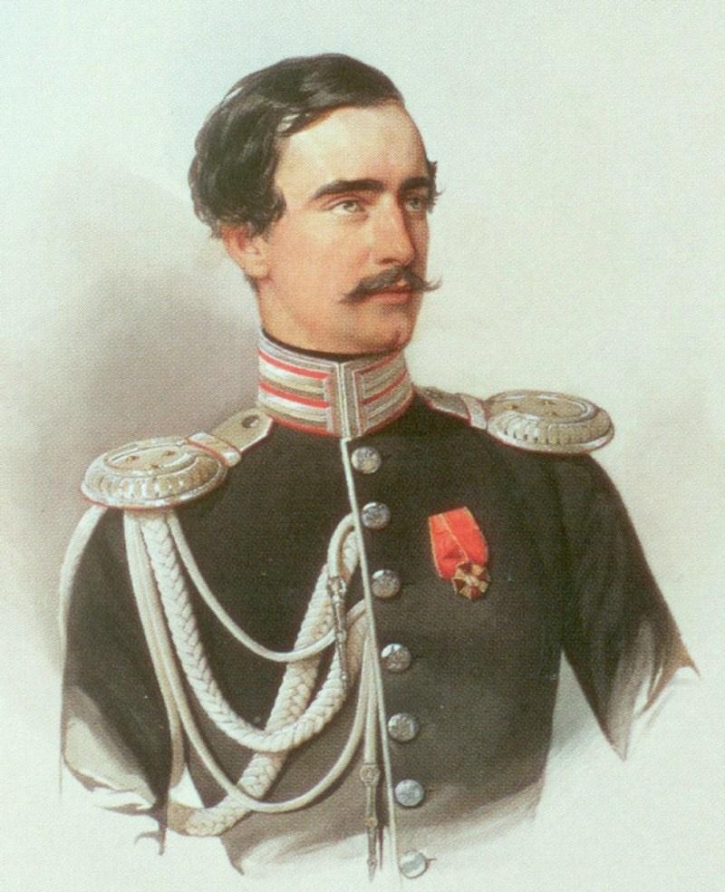 Неизвестный художник. «Портрет графа Г. А. Строганова». Конец 1840-х гг.