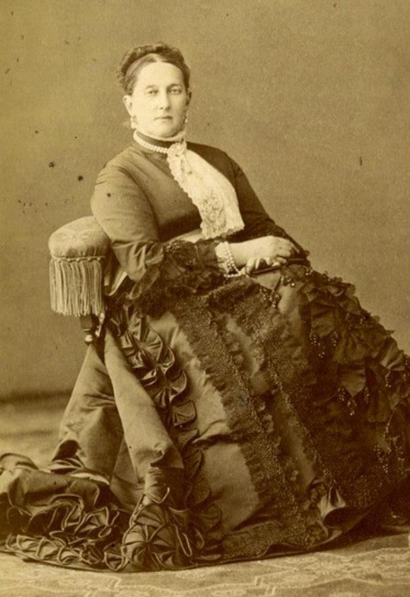 Фотография Великой княгини Марии Николаевны. 1870-е гг.