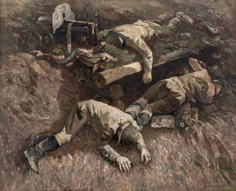 Граер Аракелян (Аракельян). «1941 год. Во имя жизни». 1984 г.