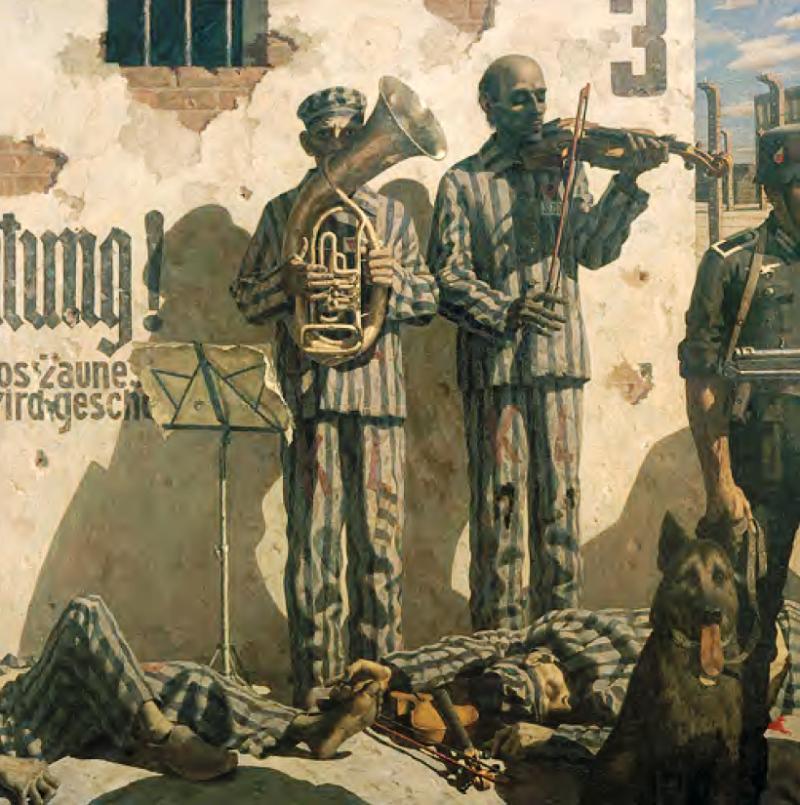 Василий Монастырный. «Музкоманда концлагеря.Танго смерти». 1986–1987 гг.