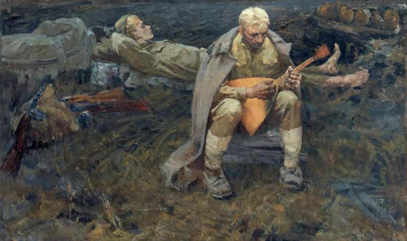 Виктор Губин. «Солдаты». 1964 г.