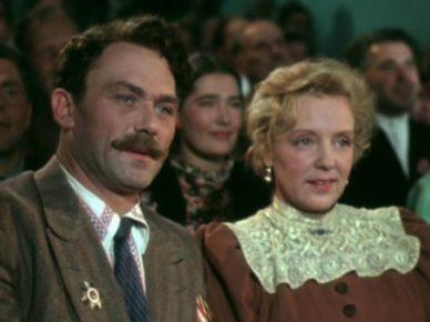 Кадр из к/ф «Кубанские казаки» (реж. Иван Пырьев, 1949 г.)