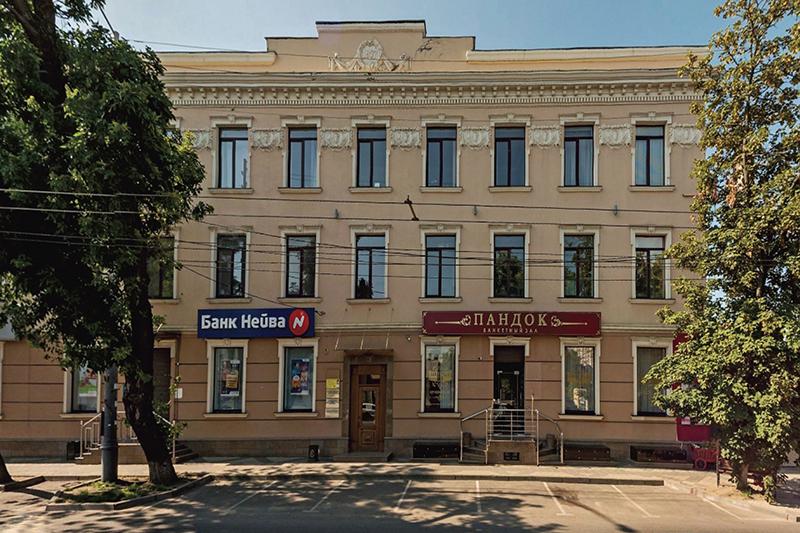 Ул. Северная, 510. Бывшее здание Краснодарского художественного комбината