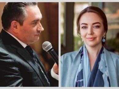 Александр Догуа и Анна Харитонова