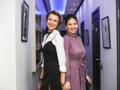 Юлия Кудина и Мадина Павлюк