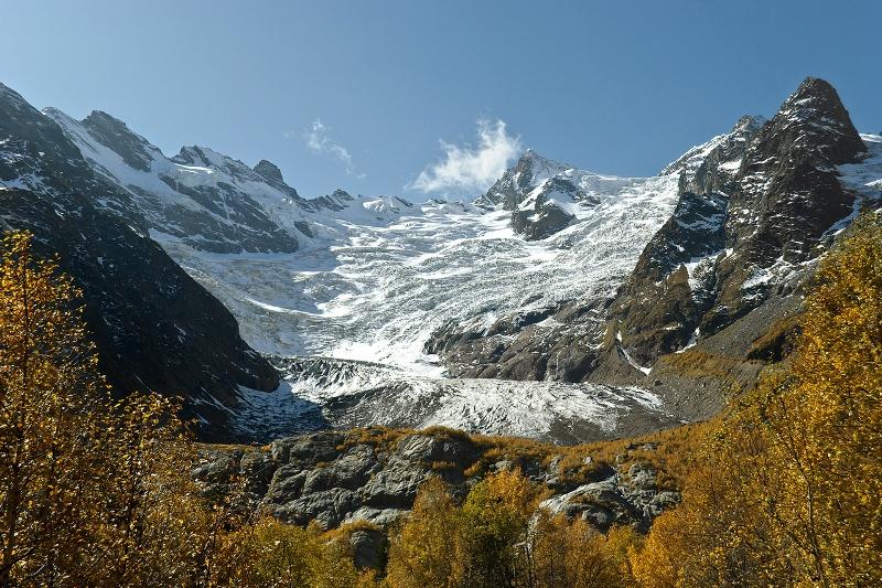 Алибекский ледник (Домбай)