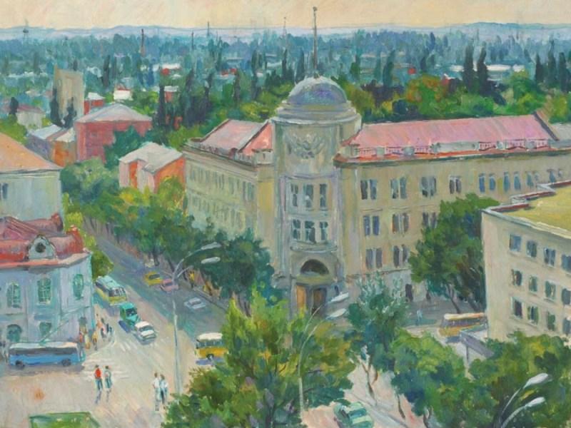 Г. В. Анциферов. «Улица Мира. Краснодар». 1978 г.