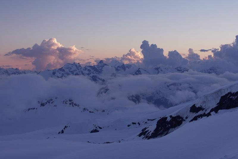Закаты на Эльбрусе