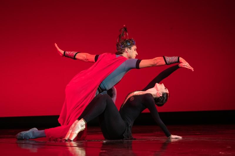 Балет «Легенда о любви». Мария Томилова и Алексей Шлыков. / Фото: М. Логвинов