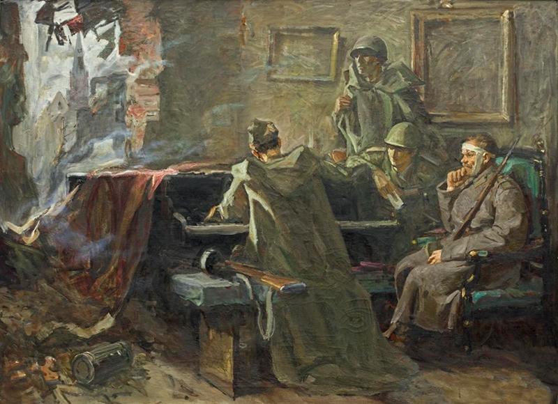 Григорий Булгаков. «Родные мелодии». Х., м. 120×166. 1982 г.