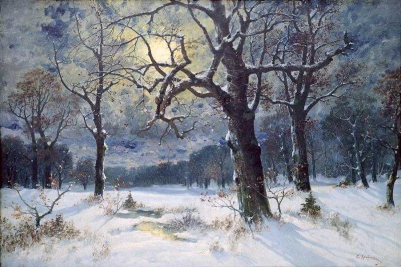 А. Кауфман. «Зимний пейзаж»