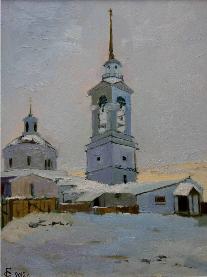 Сергей Гелецкий Екатеринбург. Серый день.