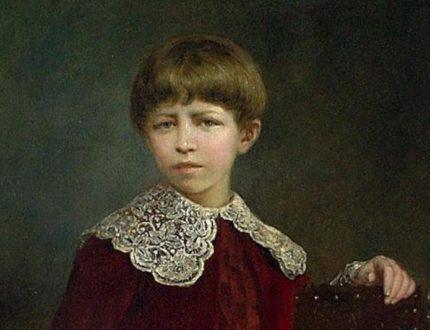 Рачков. Портрет мальчика.