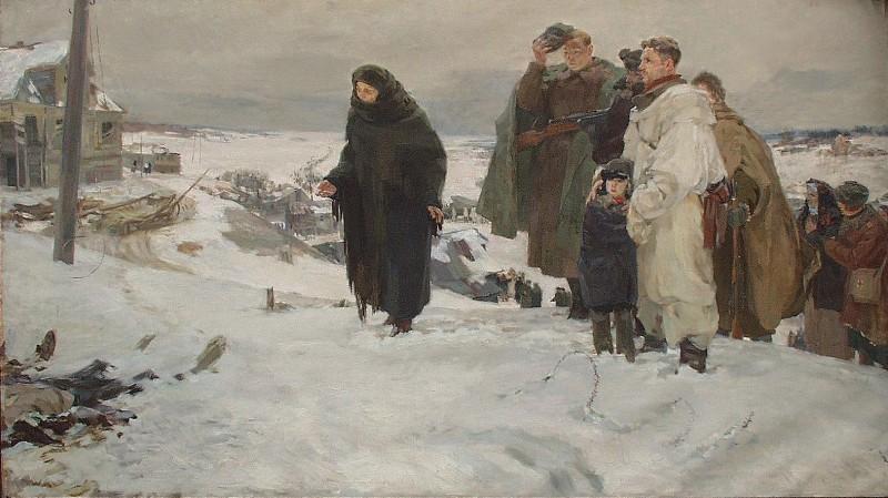 Михаил Давидович Натаревич «Не забудем»