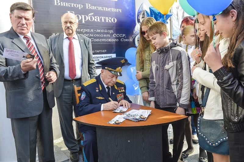 В. Горбатко в Новороссийске. 2014 г.