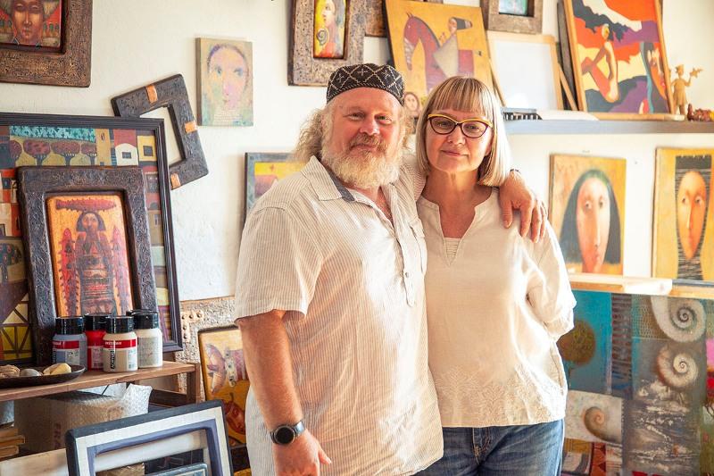 Павел Николаев и Ирина Максакова