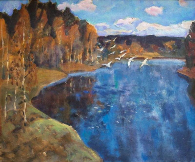 А. Г. Ерёмин. «Лебединое озеро». 1968 г.