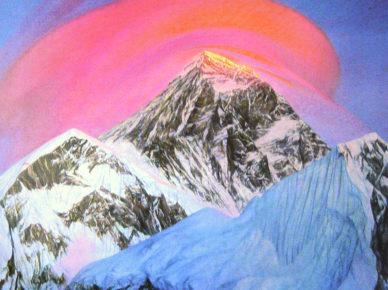 С. Дудко. «Эверест перед снежной бурей»