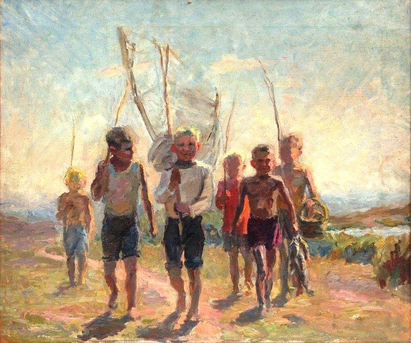 Е. Малеина. «Дети на каникулах»