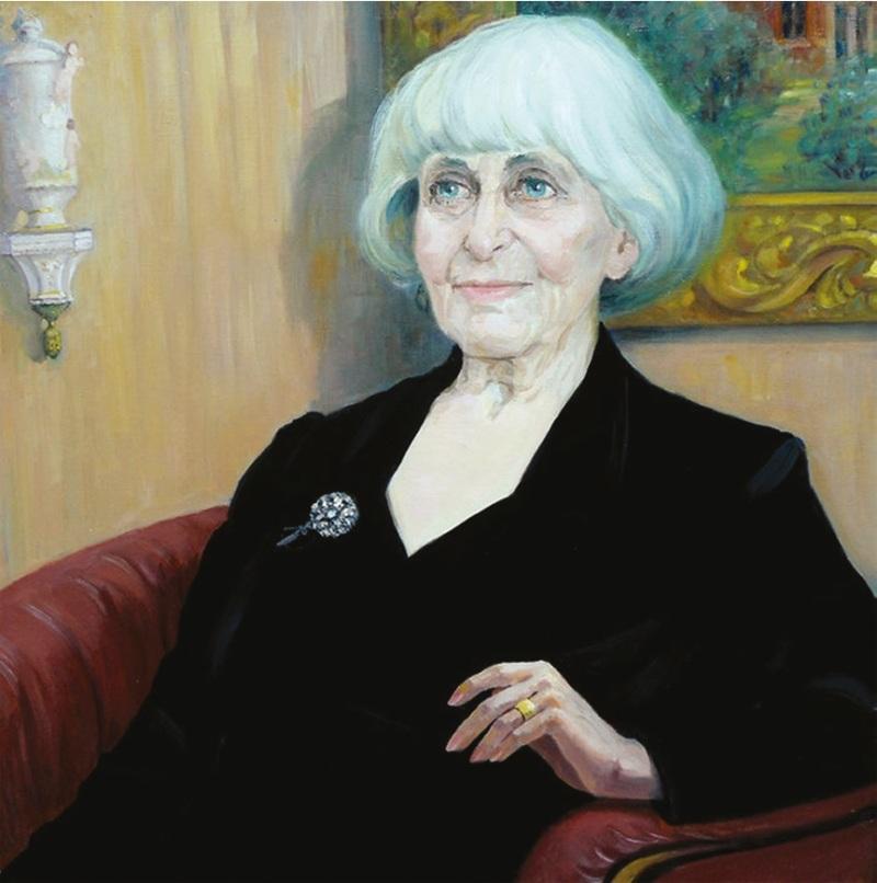Ольга Салькова. «Портрет Тамары Даниловны Купленниковой». 2010 г.