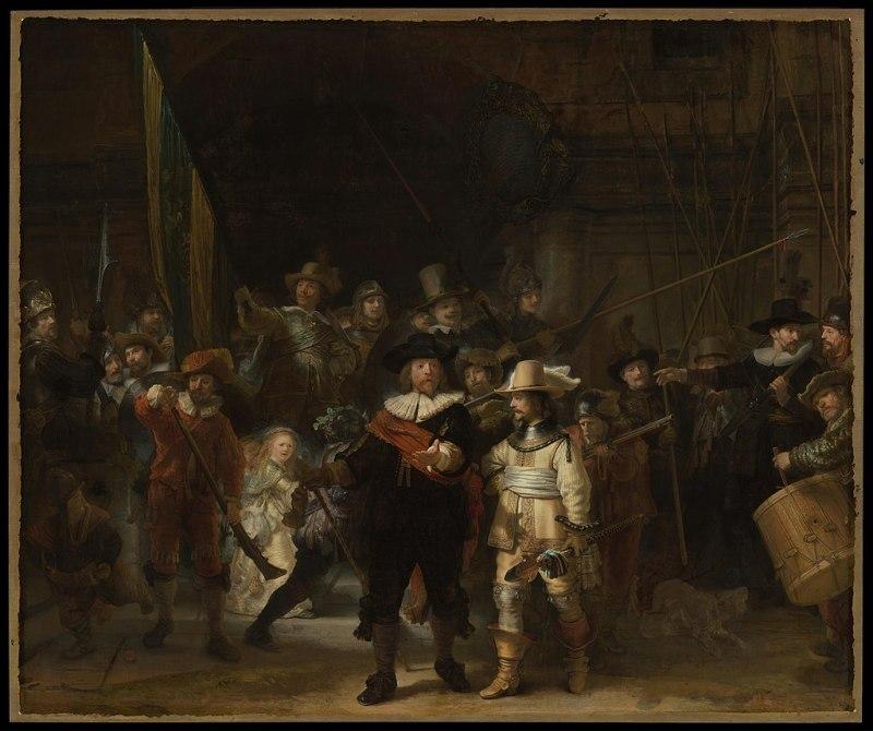 Рембрандт. «Ночной дозор»