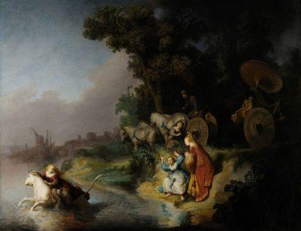 Рембрандт. «Похищение Европы»
