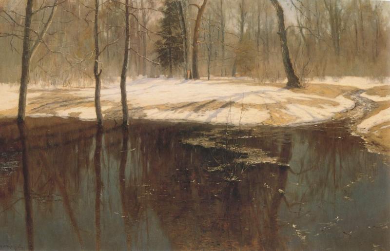 С. Ю. Жуковский. «Весенняя вода». 1898 г.